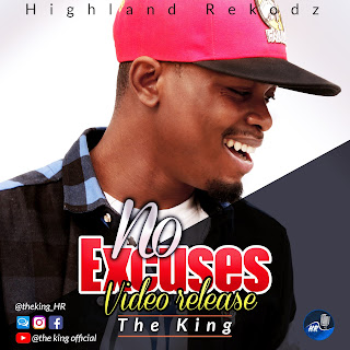 """[MUSIC VIDEO]: """"NO EXCUSES"""" VISUALS BY HIP HOP ARTIST THE KING(TK) NOW TRENDING ON @IJesusAfrica"""