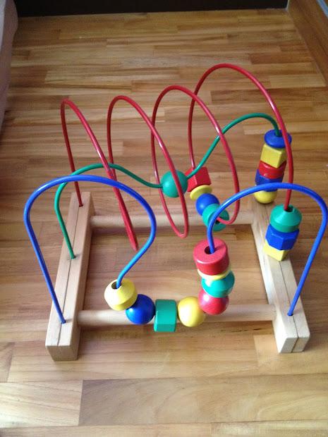 Wooden Bead Maze Ikea Budgety Mummies