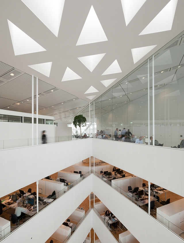 Picture of an offices in the crystal office building