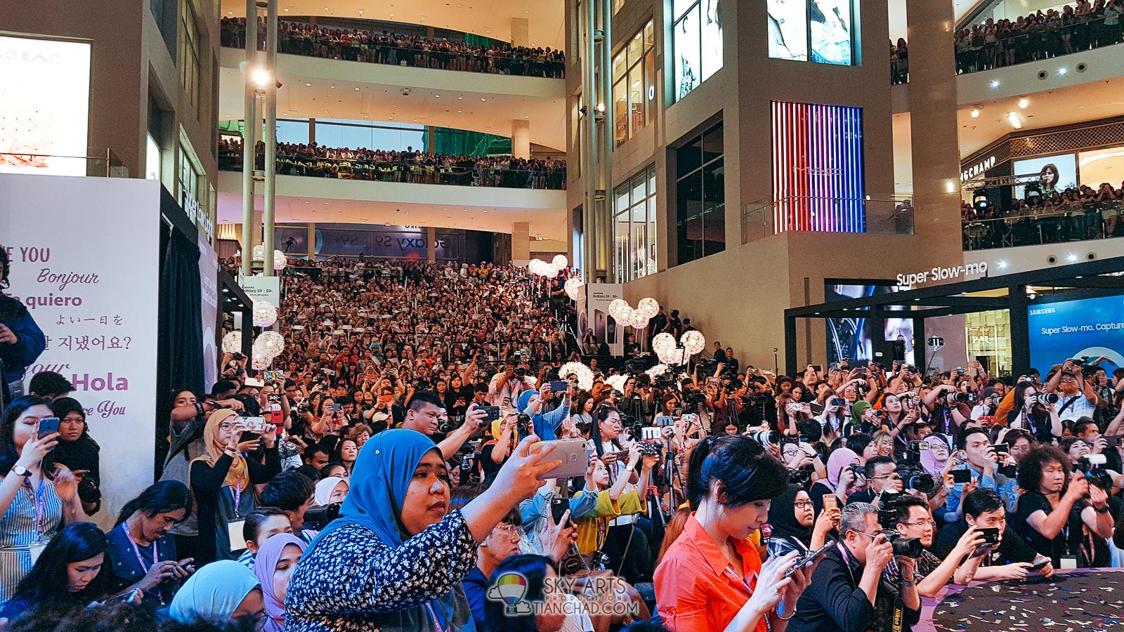 9a15e5de64c Park Bo Gum 박보검 BOGUMMY In Malaysia Samsung Galaxy S9 Launch  ParkBoGuminMY