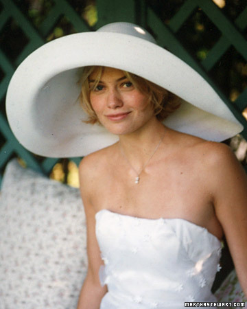 ... Bang Bang with the big hat and diaphanous wrap holding it on. Totally  retro and it looks great with the lace gloves too. Image - via You   Your  Wedding 15d36502ca3