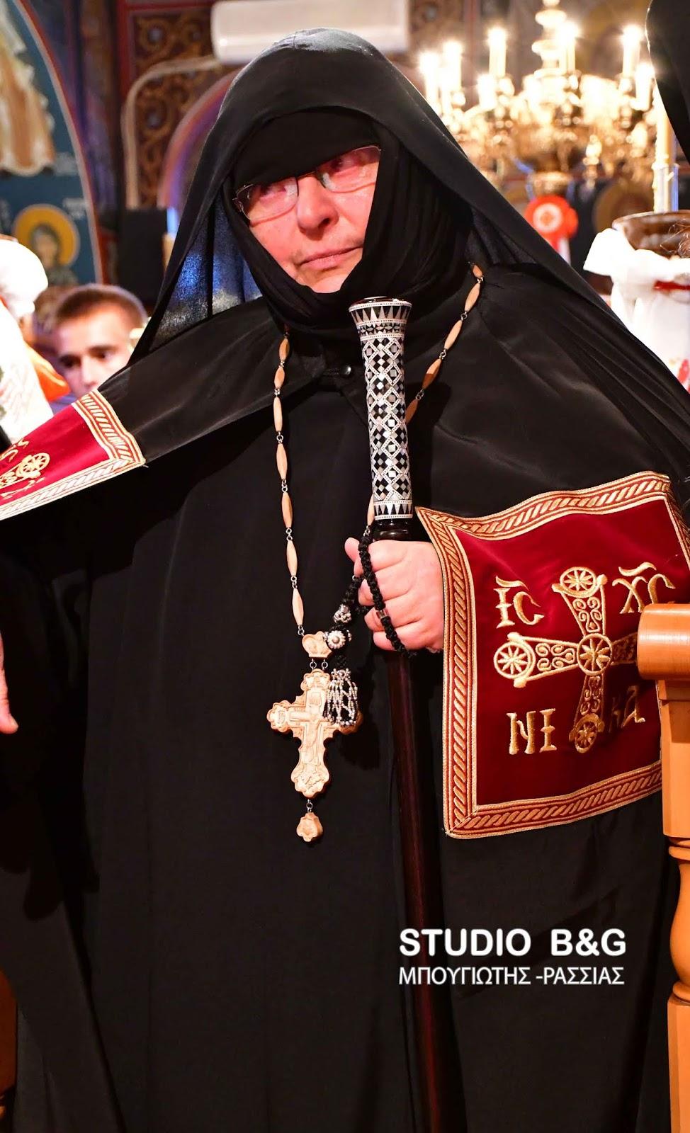 Ενθρονίστηκε η νέα Ηγουμένη της Ιεράς Μονής Αγίου Δημητρίου Καρακαλά Χριστονύμφη