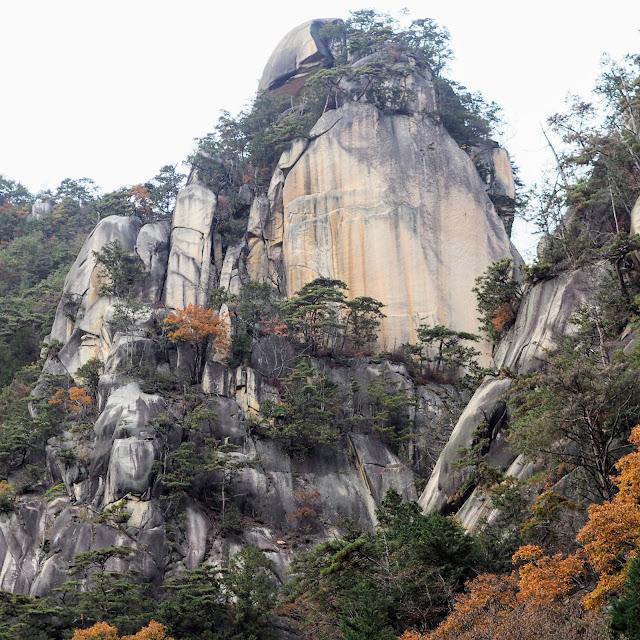 昇仙峡 覚円峰
