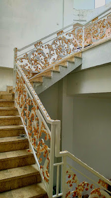 railing besi tempa mewah