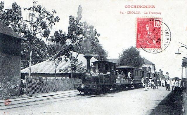 Ga Chợ Lớn, năm 1905