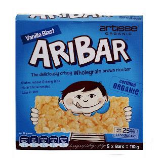 Gluten Free Vanilla Blast Aribars