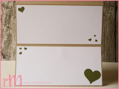 Stampin' Up! rosa Mädchen Kulmbach: Hochzeitskarte im Safarilook mit Baumstanze, Love you lots, Grüße rund ums Jahr und Pop of Paradise