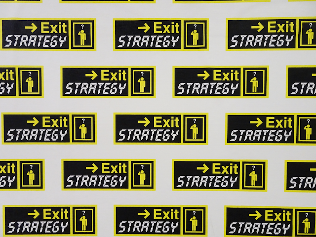 Exit Strategy wall