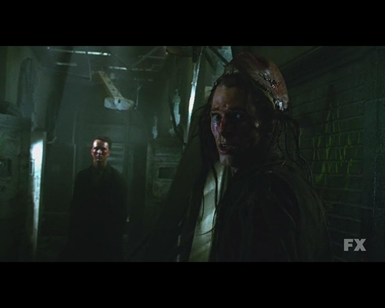 Emily Blame: AHS: Asylum episode 1 - Welcome To