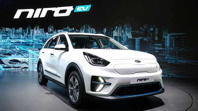 Kia Niro EV revealed in Korea