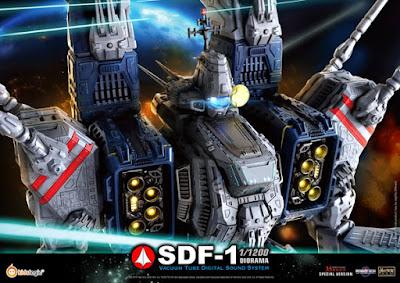 SDF-1 Diorama Vacuum Tube Digital Sound System della Kids Logic