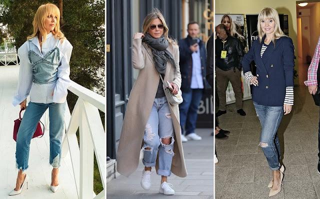 Эвелина Хромченко объяснила зрелым женщинам, как носить джинсы после 50 лет и не выглядеть дешево