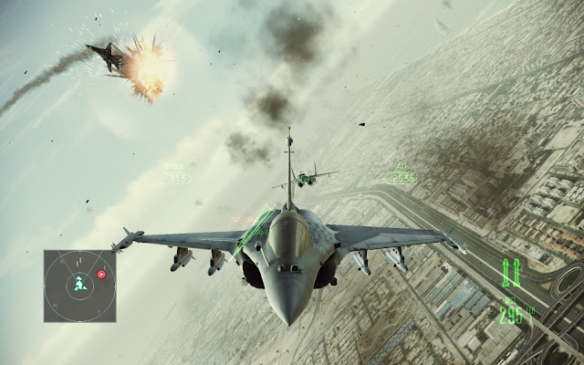 Ace Combat Assault Horizon Enhanced Edition Free Download PC Screenshot 3