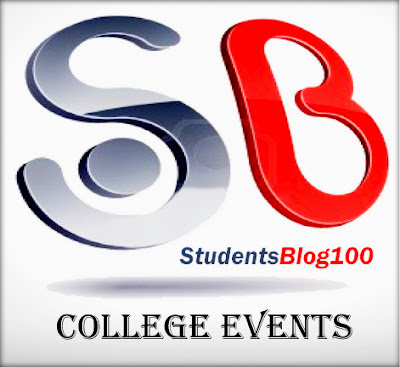 Post Your college events in studentsblog100