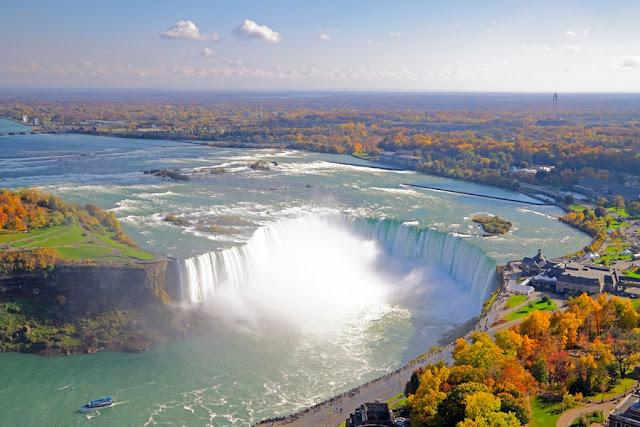 Outono em Niagara Falls