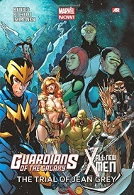Cover of The Trial of Jean Grey, a Guardians of the Galaxy and All-New X-Men crossover