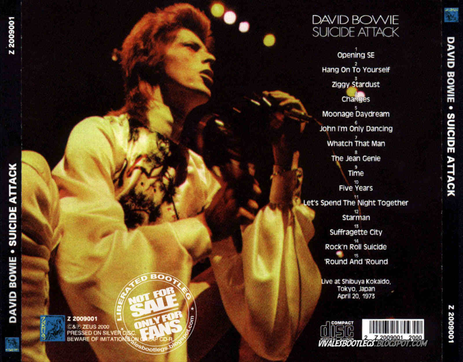 Best Of David Bowies   Tour Bootlegs