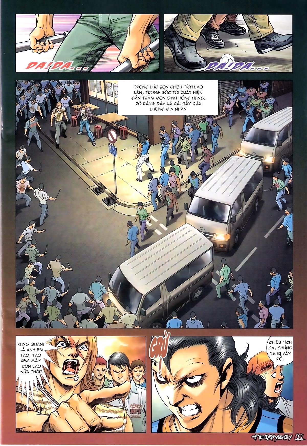 Người Trong Giang Hồ - Chapter 1338: Lương Gia Nhân và Chiêu Tích - Pic 18