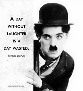 "Charlie Chaplin: ""Every day that you do not smile is a lost day"""