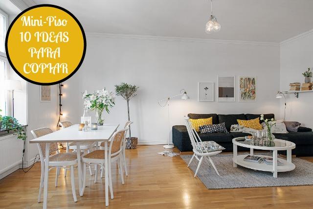 Una pizca de hogar decoraci n pisito n rdico lista para for Decoracion apartamento 100 metros