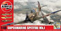 Boite du Spitfire MkI d'airfix au 1/48.