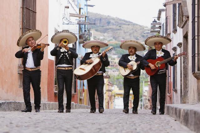 Mariachis w Meksyku