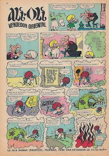 Primera historietas de Ali-Oli, Tio Vivo 2ª nº 403
