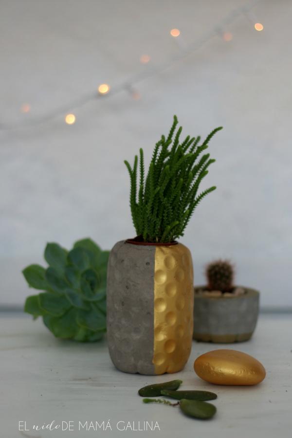 concrete pineapple planter