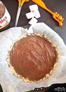 Recette simple du cookie géant au Nutella