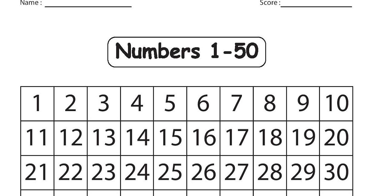 Kindergarten Worksheets: Maths Worksheets
