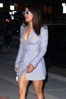 Priyanka Chopra in Short Formal Deep neck Dress in New York ~  Exclusive Pics 003.jpg