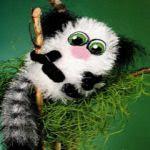 patron gratis lemur amigurumi