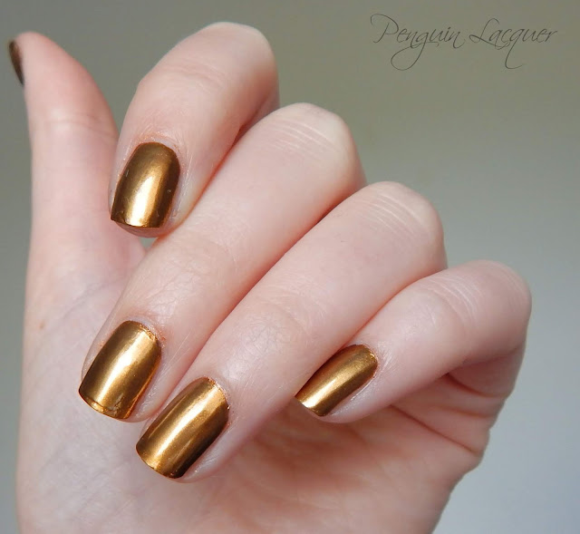 p2 motown glam chromatic nail powder gold