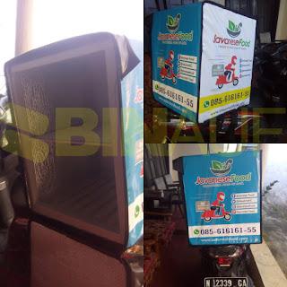 Tas delivery box makanan Surabaya java