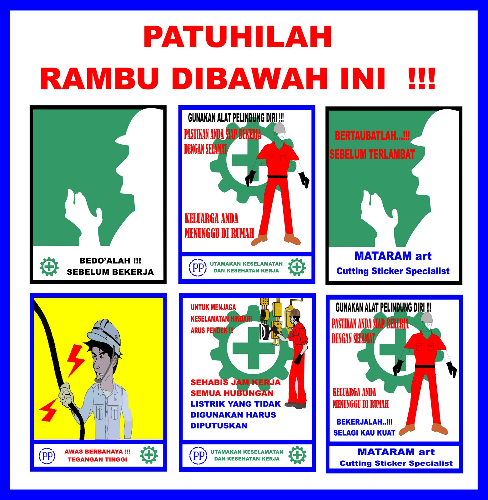 Contoh Gambar Poster K3 - Feed News Indonesia