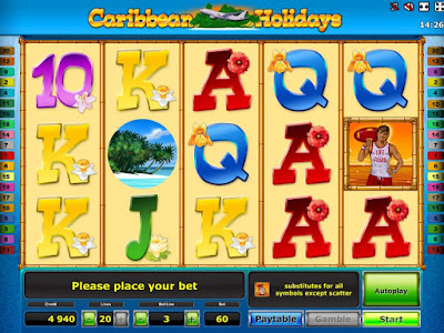 play caribbean holidays slot free