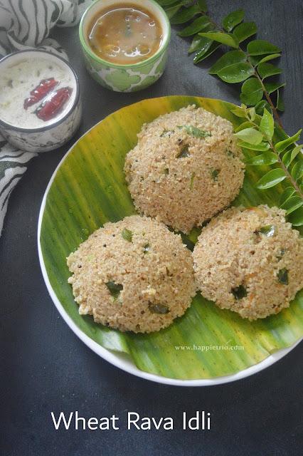 Broken Wheat Rava Idli Recipe | Dalia Idli | Godhumai Rava Idli |Wheat Rava Idli