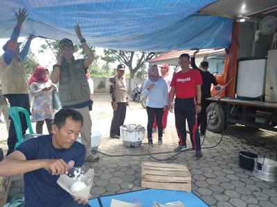Yayasan Jantung Indonesia Pringsewu Sambangi Korban Bencana Tsunami