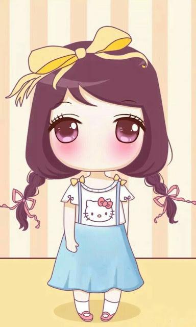 Hình nền điện thoại Chibi dễ thương đáng yêu & kute quá trời