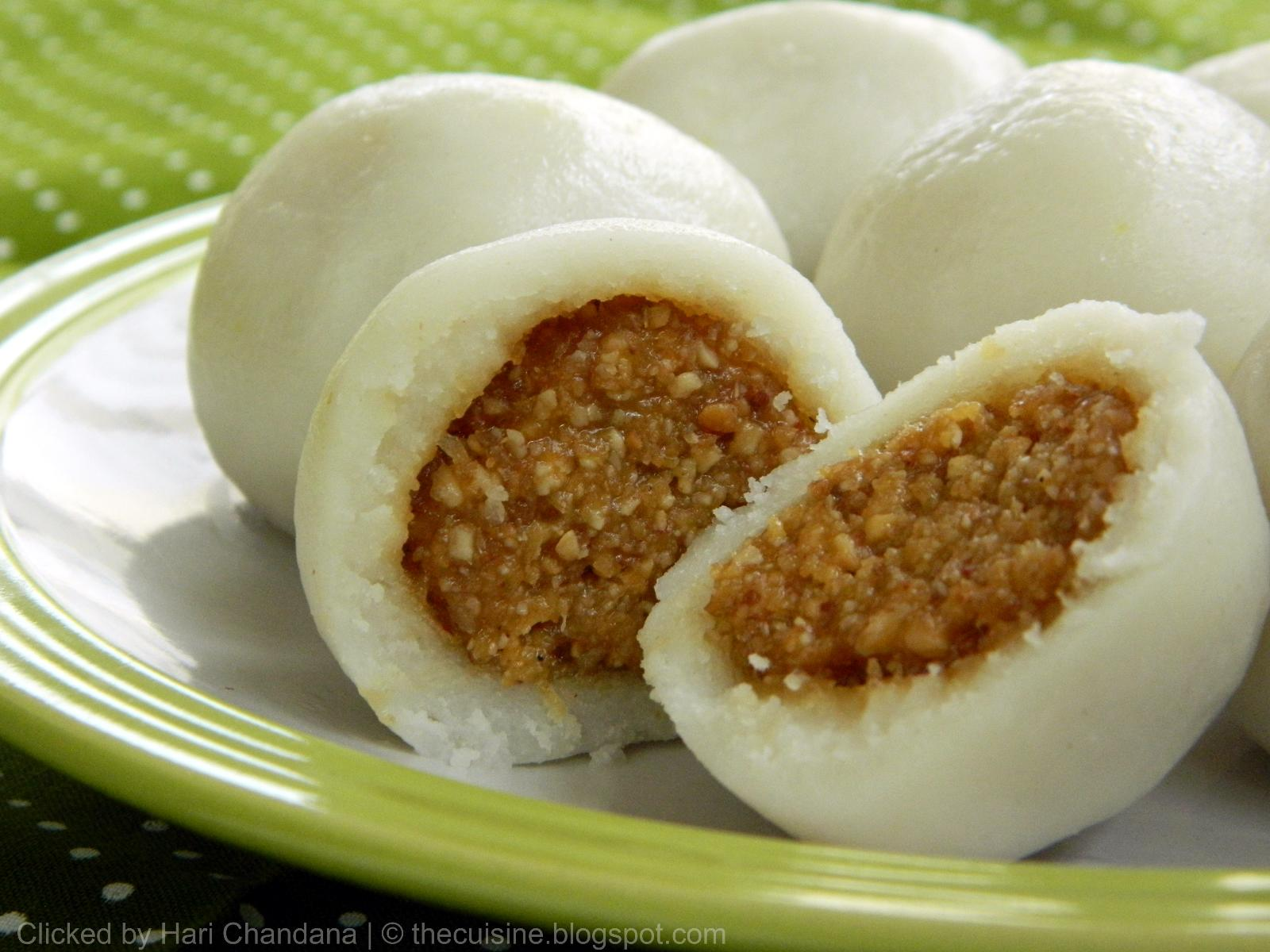 Peanut kozhukattai steamed rice dumplings with peanut coconut peanut kozhukattai steamed rice dumplings with peanut coconut stuffing peanut modak recipe forumfinder Image collections