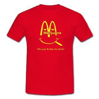 Koszulka Marijuana - McDonald
