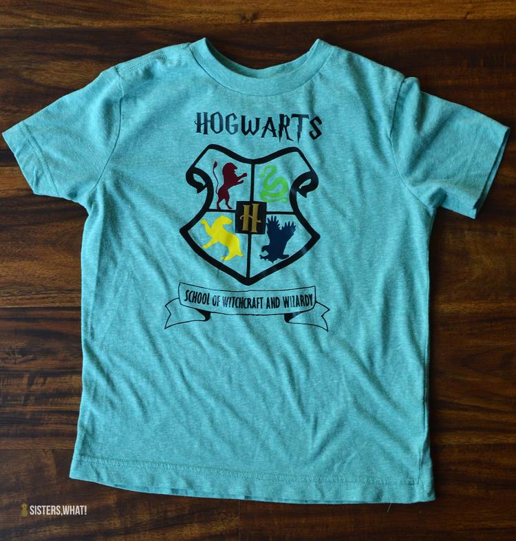 Diy Harry Potter Shirts Using Heat Transfer Vinyl