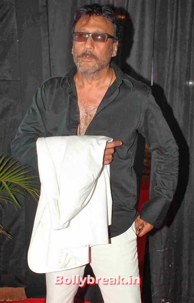 Jackie Shroff, Bollywood Celebs at India Bridal Fashion Week