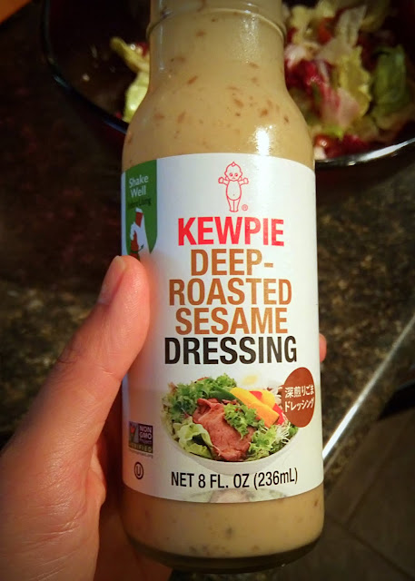 kewpie deep-roasted sesame dressing for salad