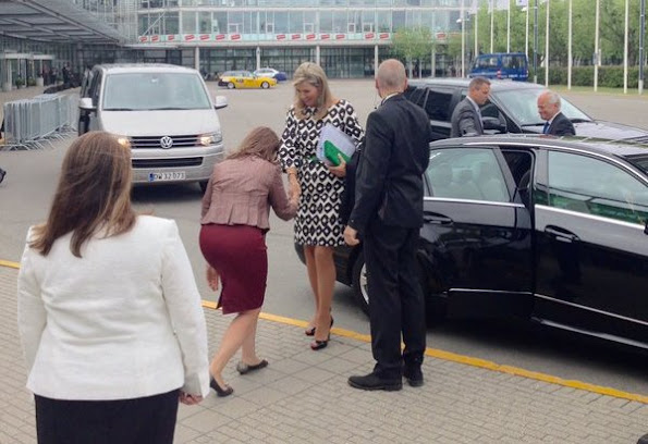 Dutch Queen Maxima has arrived for Women Deliver Conference
