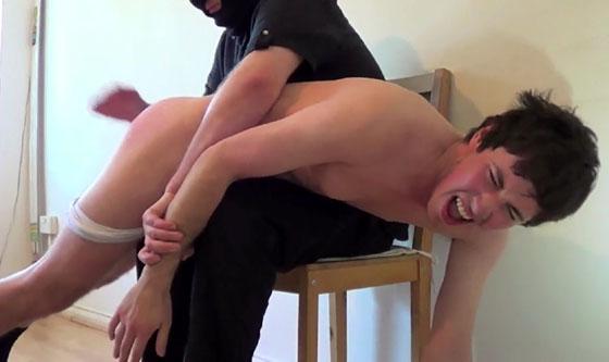 Desperate mother spank