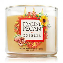 revue favoris bath and body works avis review favorite praline pecan cobbler
