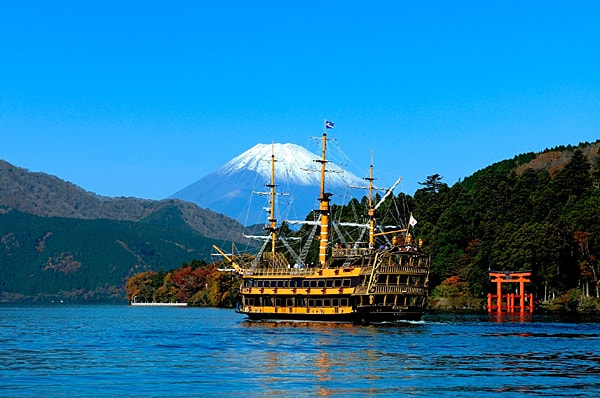 Pirate Cruise Lake Ashi