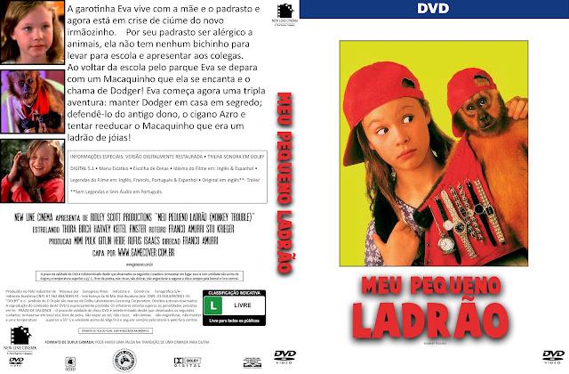 Capa DVD Meu Pequeno Ladrão (1994) [Coleção]