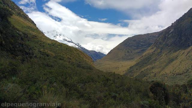 Huascaran, valle, Yungay,
